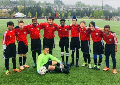 Soccer team photo